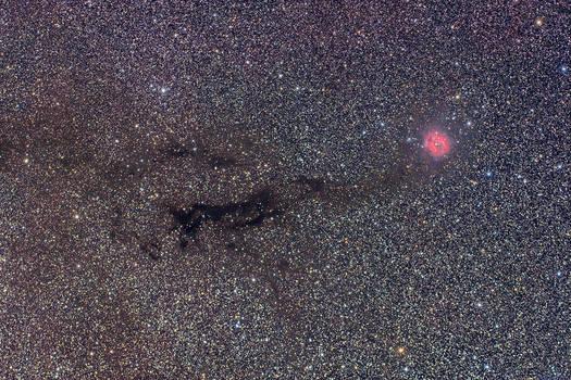 IC 5146 - Cocoon Nebula by ZeSly