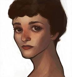 Portrait by loofu