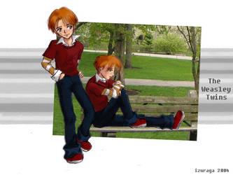 The Weasley Twins by izuraga
