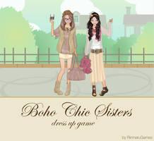 Boho Chic Sisters dressup game by Rinmaru