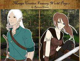Manga creator Fantasy World : page.1 by Rinmaru