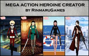 Mega action heroine creator by Rinmaru