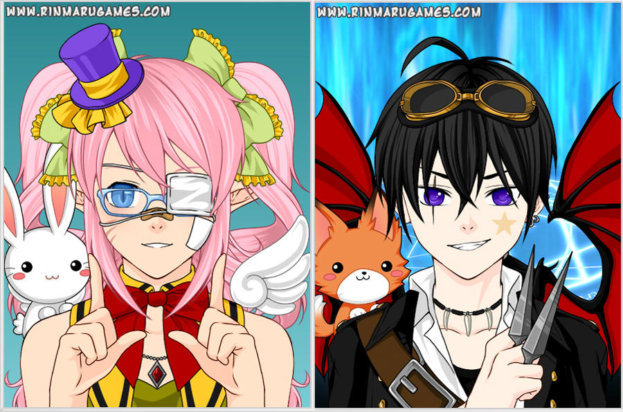 mega anime avatar creator by rinmaru on deviantart