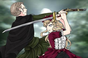 Manga Creator: Vampire Hunter page.10 by Rinmaru