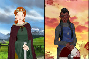 Medieval Woman Dress up game by Rinmaru