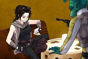 Manga Creator: Star Wars page.1 by Rinmaru