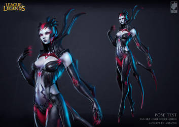 Elise spider queen by CGPTTeam