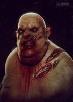 Fat zombie by CGPTTeam