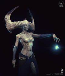 Demon chick by CGPTTeam