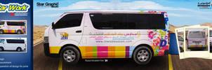 Rwad Alssalam School Van by xmangfx