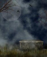 Halloween or Goth Background by JunkbyJen