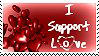 I Support Love Stamp by JunkbyJen