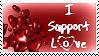 I Support Love Stamp by JunkbyJen