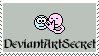 DeviantArtSecret Stamp by JunkbyJen