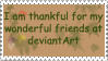 Thankful Stamp by JunkbyJen