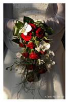 bridal bouquet by daschristkind