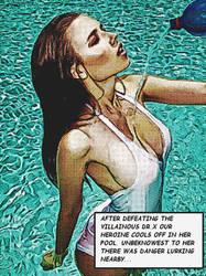 shower by polynicol-HEROINE by Zagaboy