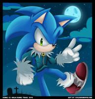Happy Halloween 2015 - Sonic by VagabondWolves
