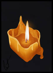 Candle Cube by Courtzart