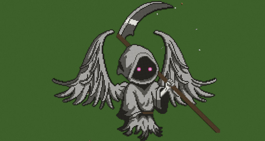 Pixel Art: The Reaper by Nonamewayward