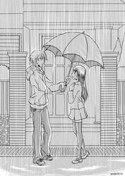 Rain... by amjie
