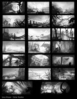 20 Value Studies by JanaW