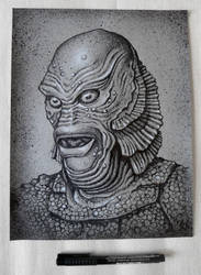 Gill Man by ecofugal