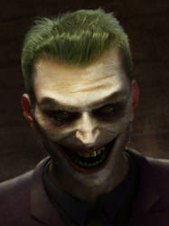 The Laughing One by cyberman2