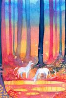 Unicorn Forest II by Tankero