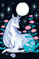 Winter Series: Unicorn by Tankero