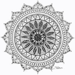 Mandala 1 by Avaloniteaa