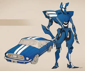 classic car robo 01 by Gingashi