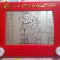 Paper Mario Etch A Sketch by 2-Star