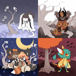 October Time Bundle 1 by hollowbean