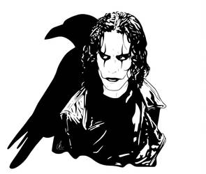 The Crow - Eric by DynamixINK