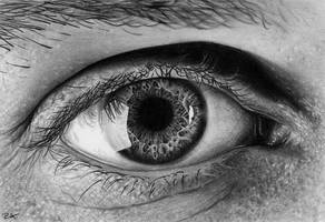 Eye Drawing - AtomiccircuS by Beranay