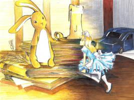 Velveteen Rabbit meets Alice by nanase08