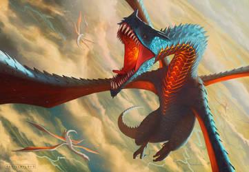 Clamor de Dragon by badillafloyd