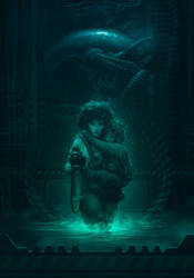 Alien fan art by badillafloyd
