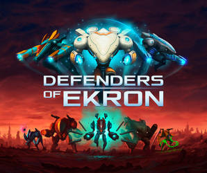 Defenders of Ekron - Cover Art by badillafloyd