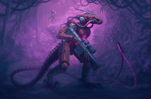 Dinoraptorbot by badillafloyd