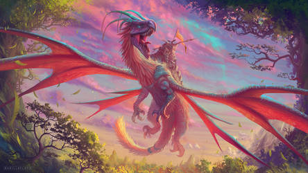 Dragon corsair by badillafloyd