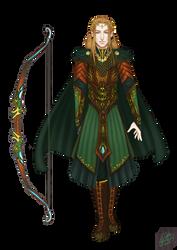 Elf Archer by SweetSundae