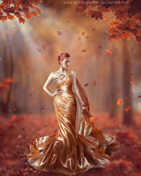 Golden autumn by MarinaBaccardi