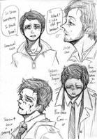SPN: Lots of Cass by KuroLaurant