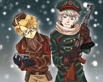 Cold war Hetalia by Kikitaiga