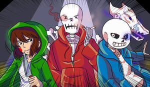 Bad Time Trio by Kikitaiga