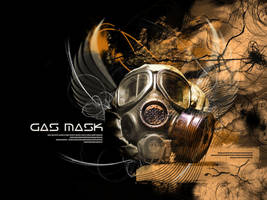 gas mask by bisqppo