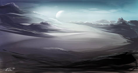 Environment Painting 03 by davepinsker