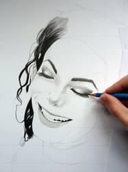 Michael Jackson WIP by davepinsker